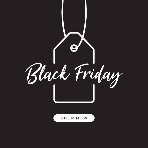 black friday-web-banner-design - black friday stock-grafiken, -clipart, -cartoons und -symbole