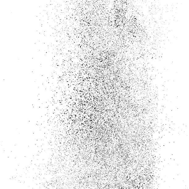 Black grainy texture isolated on white. Black grainy texture isolated on white background. Distress overlay textured. Grunge design elements. Vector illustration,eps 10. persistence stock illustrations