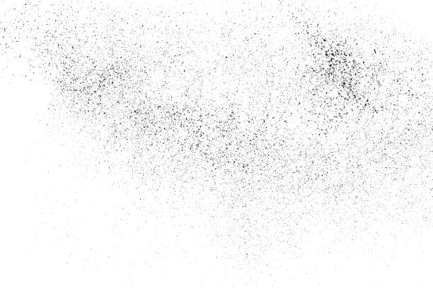 Black grainy texture isolated on white. Black grainy texture isolated on white background. Distress overlay textured. Grunge design elements.  Digitally Generated Image. Vector illustration,eps 10. persistence stock illustrations