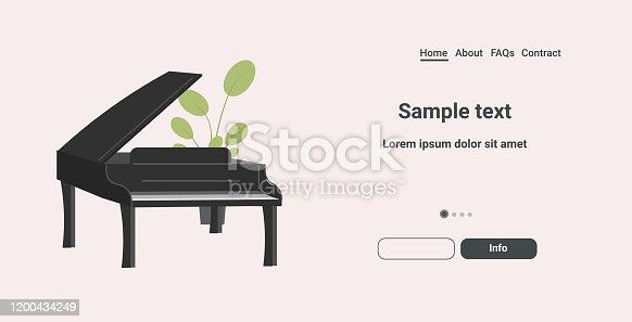 istock black grand piano icon cartoon musical instrument horizontal copy space 1200434249