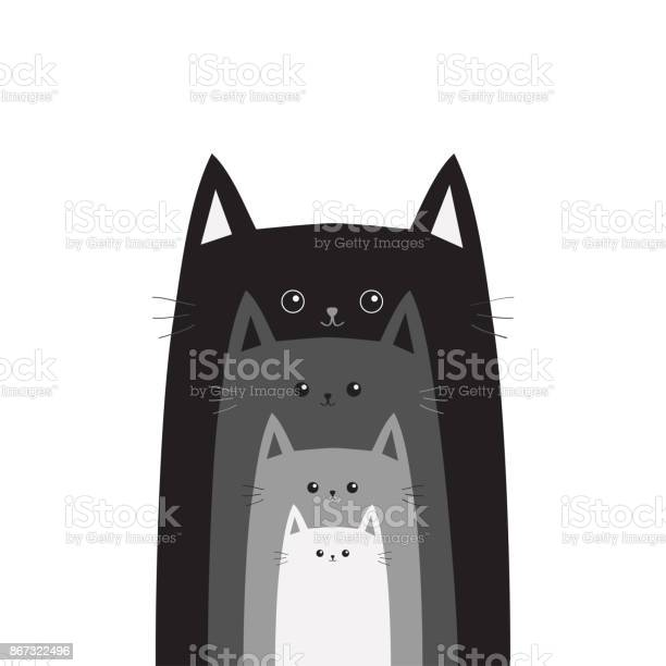 Black gray cat head cats in a row different size big small middle vector id867322496?b=1&k=6&m=867322496&s=612x612&h=x93sf50gwojjuaa79 ja6c nmjhvffpazxll8tdzyb8=