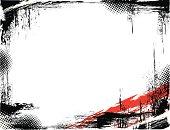 Two color grunge frame. Hires JPEG included. Enjoy!