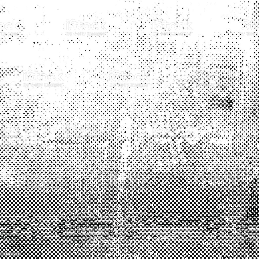 Black grunge halftone background
