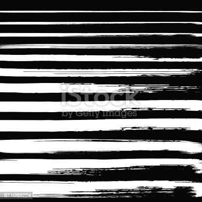 629255068istockphoto Black grunge hand drawn brushstrokes on white background. 611089224