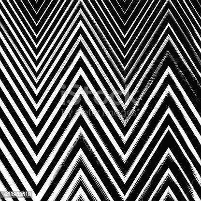 629255068istockphoto Black grunge hand drawn zigzag brushstrokes on white background. 638953510