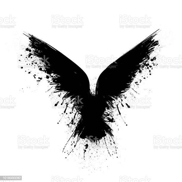 Black grunge raven vector id1018330282?b=1&k=6&m=1018330282&s=612x612&h=hrjgtrvp5di5qhgvxf8bfyprtdqtsnc1uvr3 k 9vf0=