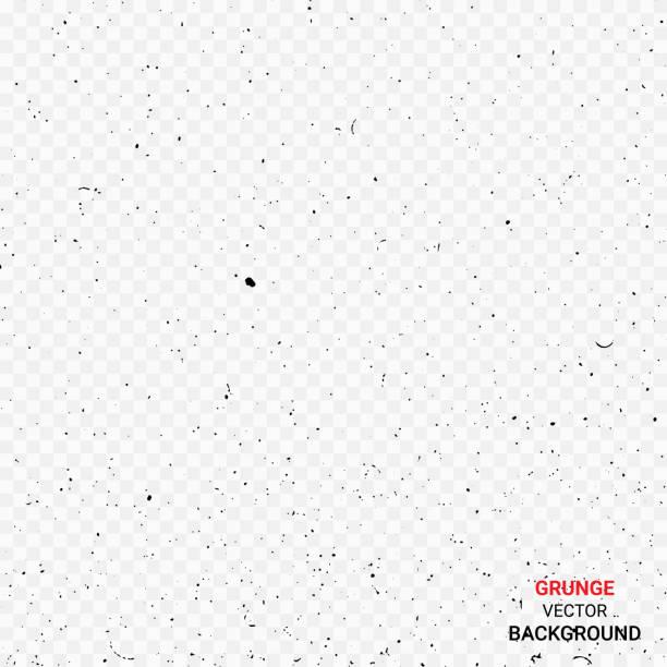 black grunge texture background - pył stock illustrations