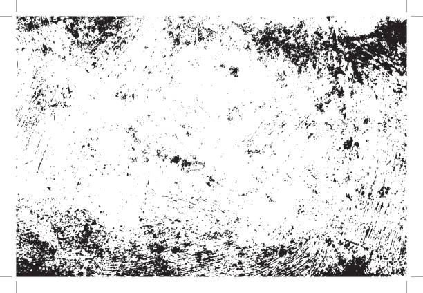 czarna tekstura grunge - brudny stock illustrations