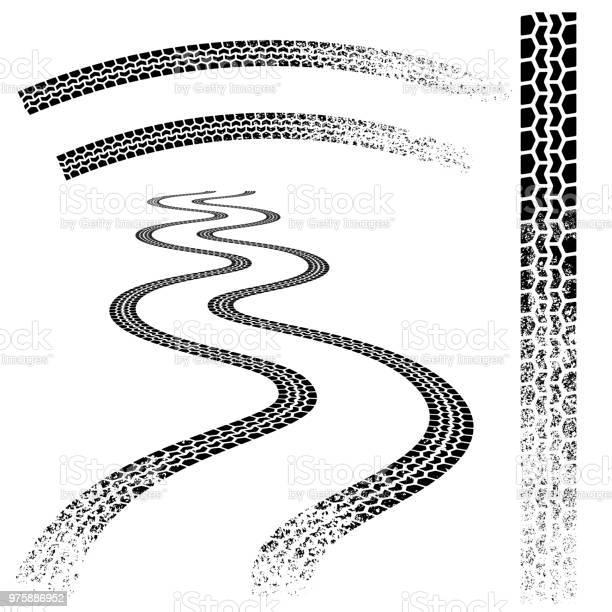 Black grunge tire tracks vector id975886952?b=1&k=6&m=975886952&s=612x612&h=xd08vteczzu 3nb2sqcerd9cd4l66a7tg4bh6b5io 8=