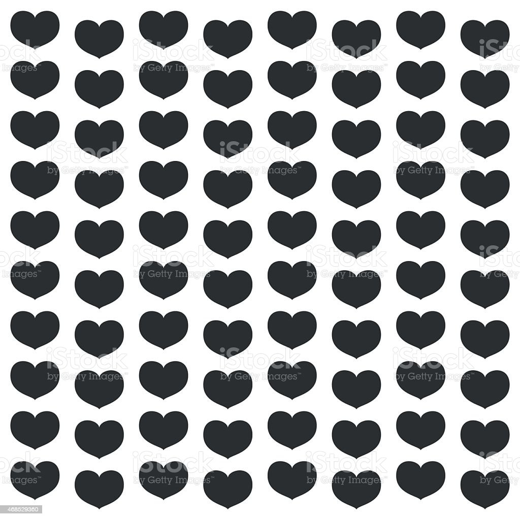 Black Heart Wallpaper Great For Any Use Vector Eps10 Stock
