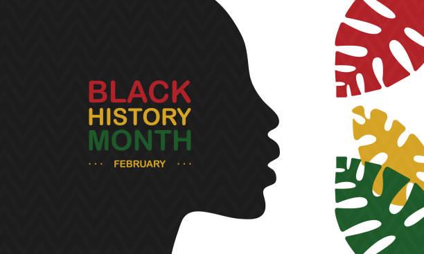 ilustraciones, imágenes clip art, dibujos animados e iconos de stock de mes de la historia negra. historia afroamericana. celebrado anualmente en febrero en los estados unidos y canadá, también en octubre en el gran bretaña. vacaciones en honor de los logros de la gente negra en la historia. cartel, banner, tarjeta de felic - black people