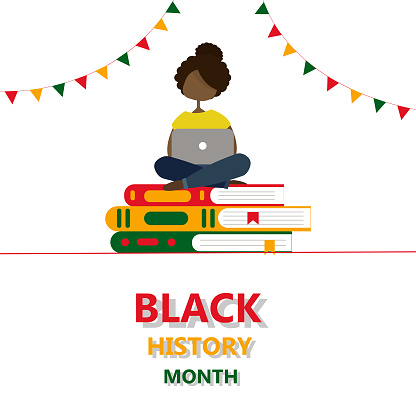 Black history month banner.