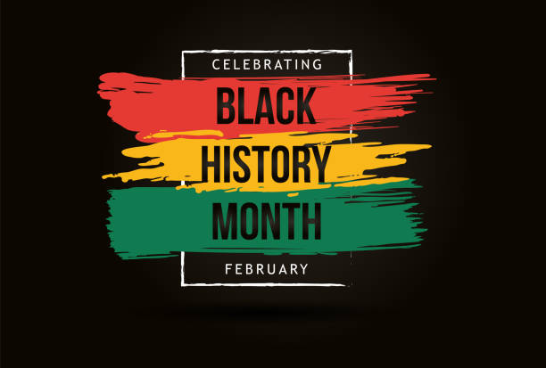 Black history month celebrate. vector illustration design graphic Black history month Black history month celebrate. vector illustration design graphic Black history month black history month stock illustrations