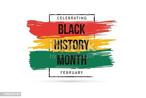 istock Black history month celebrate. vector illustration design graphic Black history month 1296359184