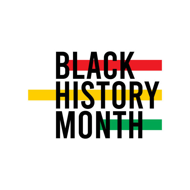 Black History Month Celebration Vector Template Design Illustration Black History Month Celebration Vector Template Design Illustration black history month stock illustrations