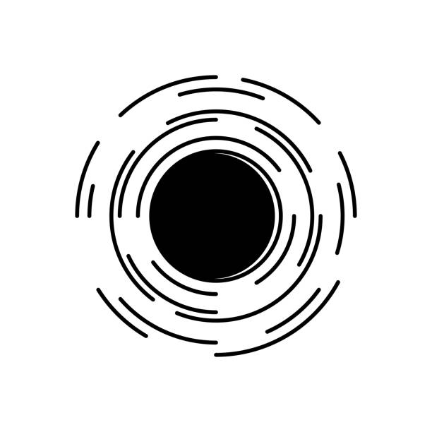 Black Hole Illustrations, Royalty-Free Vector Graphics