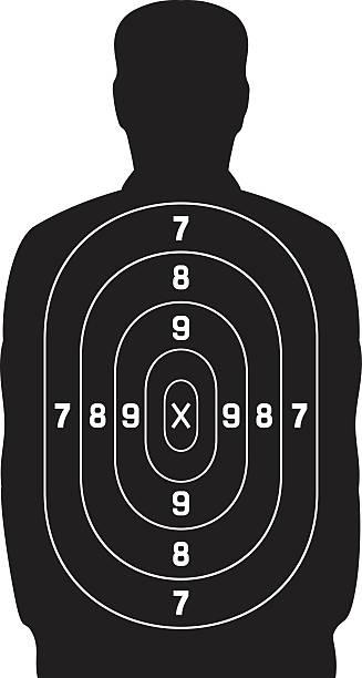 Best Gun Target Illustrations, Royalty-Free Vector ...