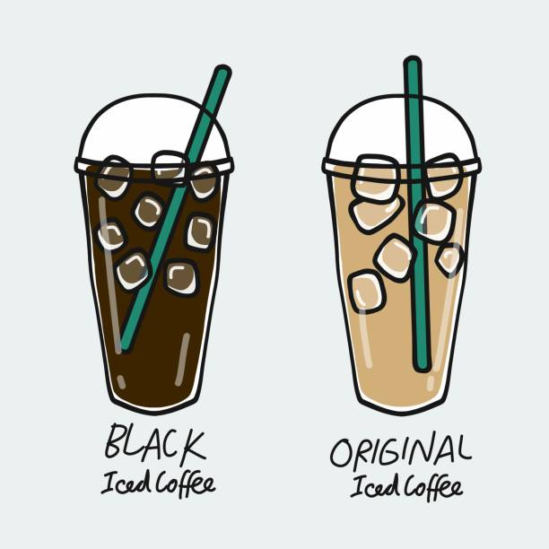 1 231 Iced Coffee Illustrations Royalty Free Vector Graphics Clip Art Istock