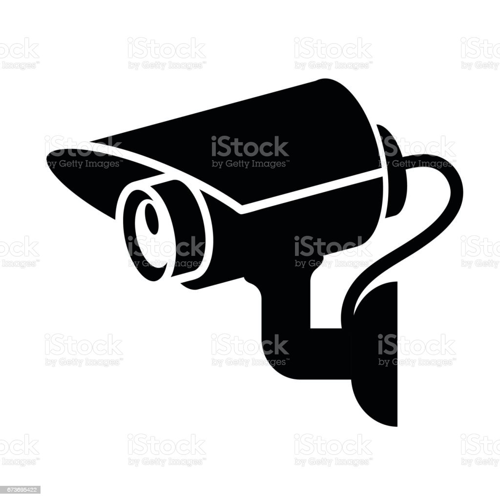 royalty free security camera view clip art vector images rh istockphoto com security camera clipart free security camera clip art vector