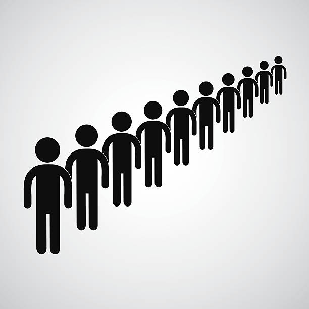 Best People Waiting In Line Illustrations, Royalty-Free ...