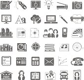 Black Icons - Offset Printing