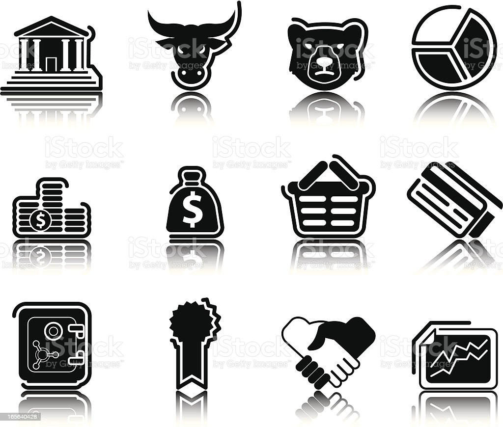 Black Icons royalty-free black icons stock vector art & more images of agreement