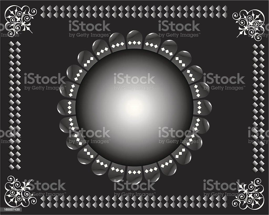 Caixa illustrazione nero - ilustração de arte em vetor