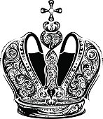 Black imperial crown