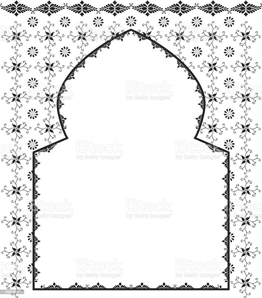 Black Ink Arch (Vector) royalty-free black ink arch stock vector art & more images of arch