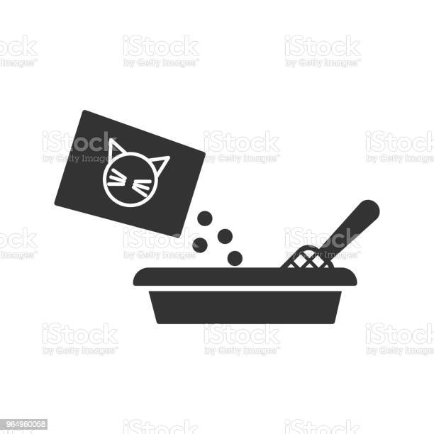 Black isolated icon of toilet for cat on white background icon of vector id964960058?b=1&k=6&m=964960058&s=612x612&h=tg2z6csxthmkz9p48neystd2 tnsgdae8bsc5z0x1a0=