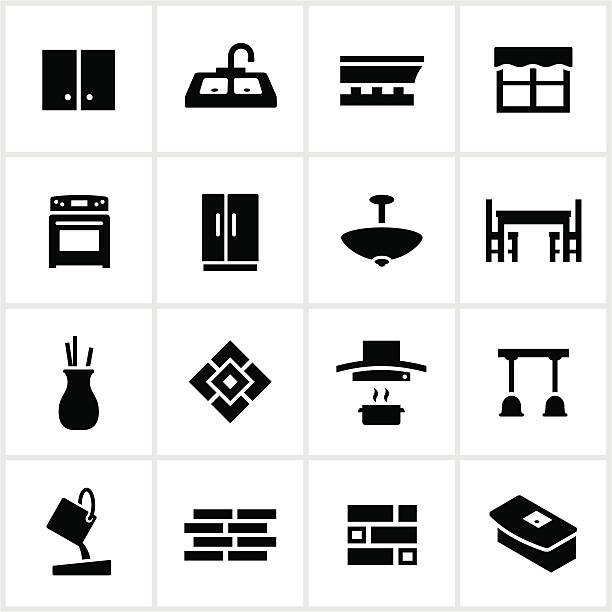 Royalty Free Kitchen Clip Art, Vector Images