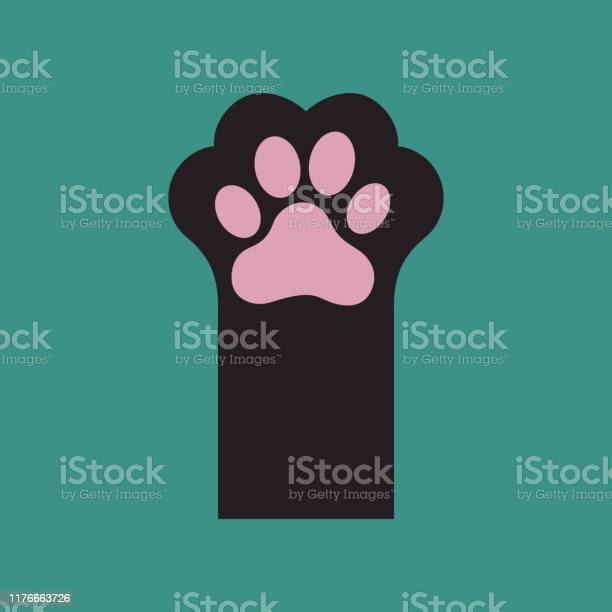 Black kitten paw isolated on green background vector id1176663726?b=1&k=6&m=1176663726&s=612x612&h=vfrxgzdmklmigbu63bdfugsog1t u12iml4vhbcmxwu=
