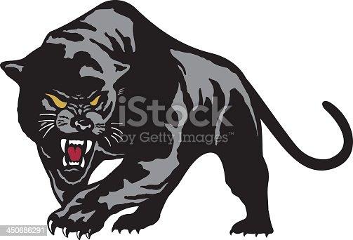 istock Black Leopard 450686291