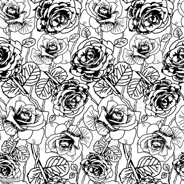 Black lined roses pattern tattoo style background vector id943290344?b=1&k=6&m=943290344&s=612x612&h=obkgs0oybtnv36iktslrndbmnhlqthyqhkj dsodaos=