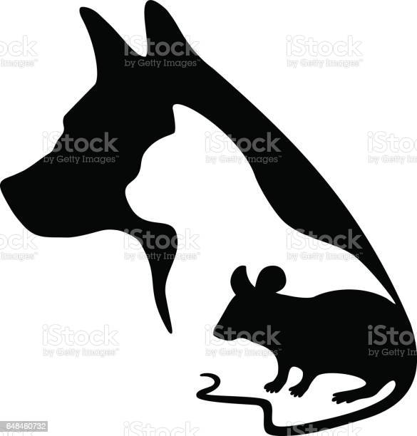 Black logo for veterinary clinic and pet shop vector dog cat and on vector id648460732?b=1&k=6&m=648460732&s=612x612&h=ohzxgpkfb7oks8ezfmdf81sj wwq6lxx8sgn lh4v9g=