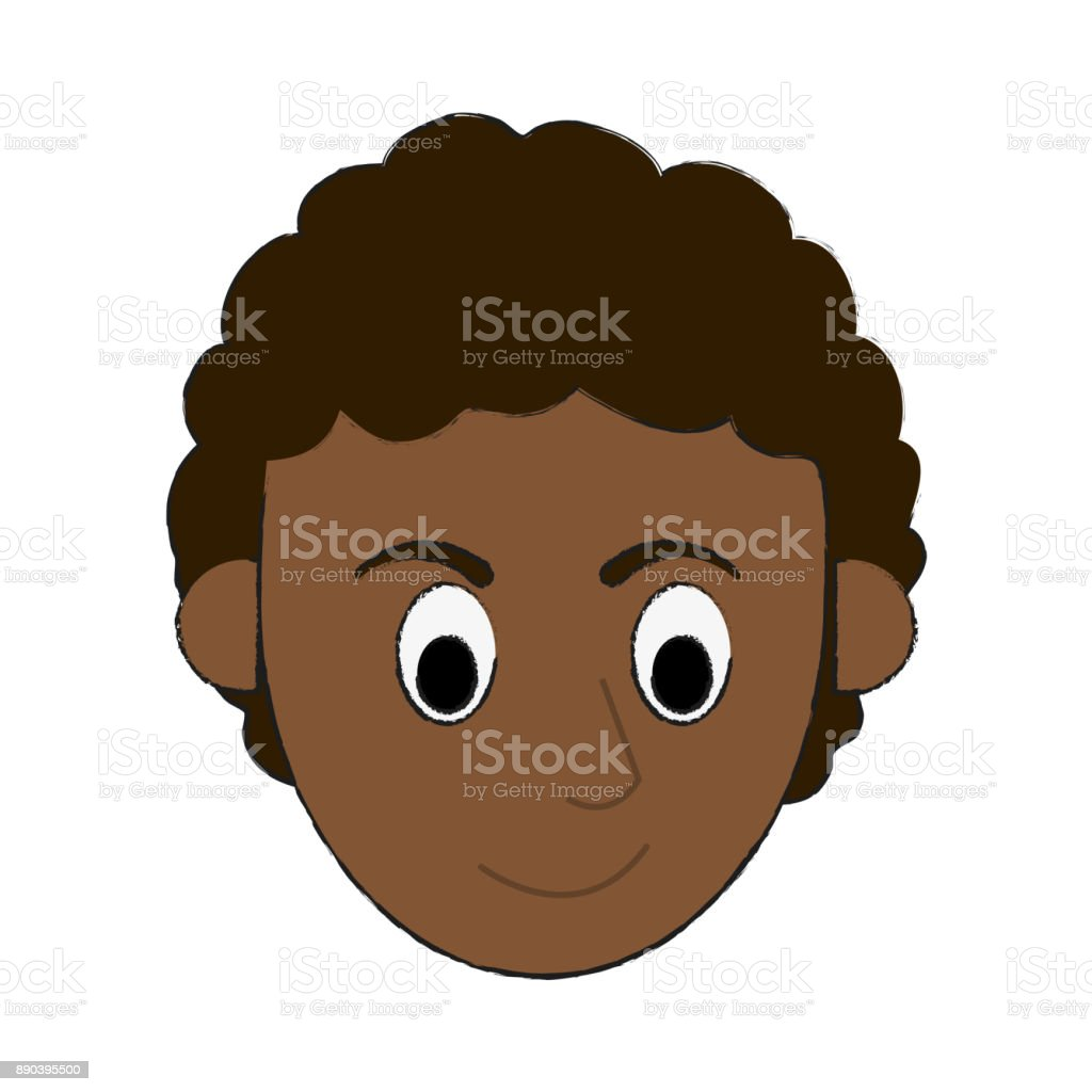 Vetores De Desenho Animado De Avatar Do Homem Negro E Mais Imagens