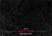 Black marble texture vector background, Can be used to create surface effect for your design product such as background of various greeting cards or architectural and decorative patterns.