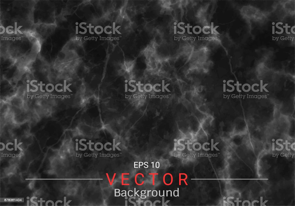 Black marble texture vector background, Can be used to create surface effect for your design product such as background of various greeting cards or architectural and decorative patterns. vector art illustration