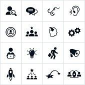 Black Marketing Icons
