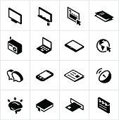 Black Mass Media Icons