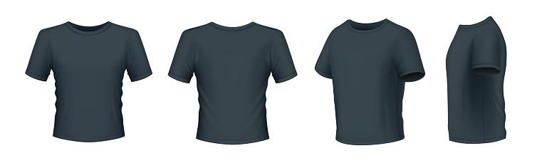 Black Men's T-shirt