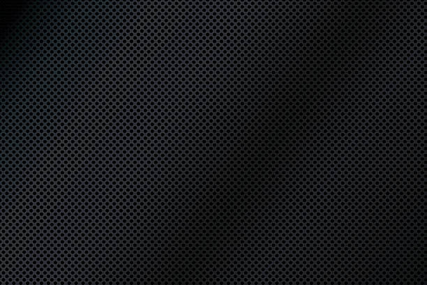 Black Mesh Texture Background Illustration vector art illustration