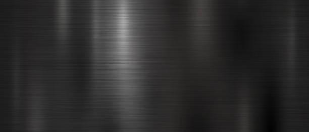 Black metal texture background vector illustration Black metal texture background vector illustration metal stock illustrations