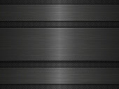 Black metal texture background. Vector illustration