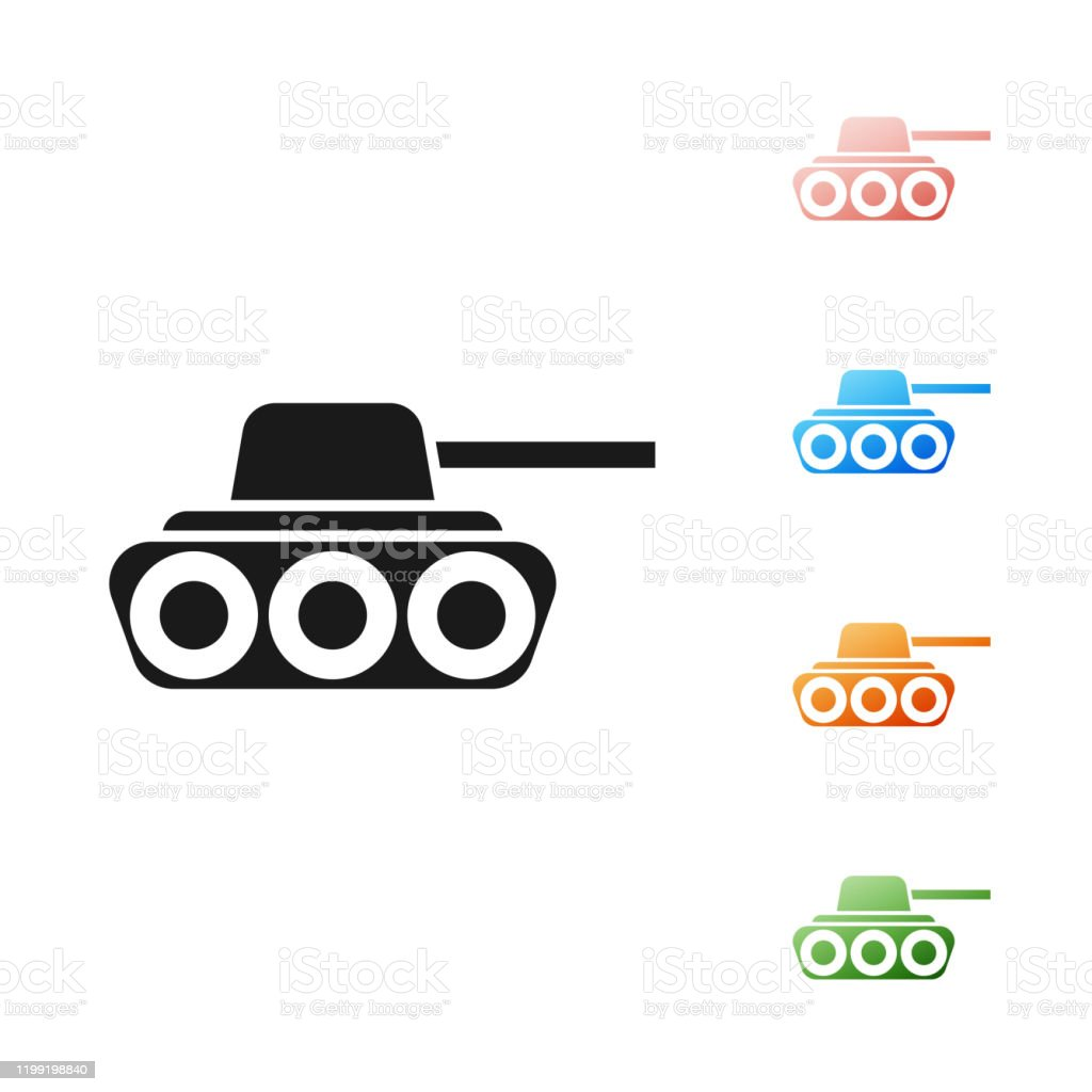 black military tank icon isolated on white background set icons colorful vector illustration stock illustration download image now istock black military tank icon isolated on white background set icons colorful vector illustration stock illustration download image now istock