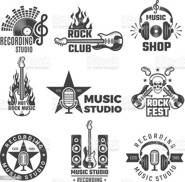 Black music labels vintage vinyl cover record microphone and vector vector id1055226450?b=1&k=6&m=1055226450&s=612x612&h=goi2w6imntmu hru62eq5eyk x1qwylhqqfghjef xk=
