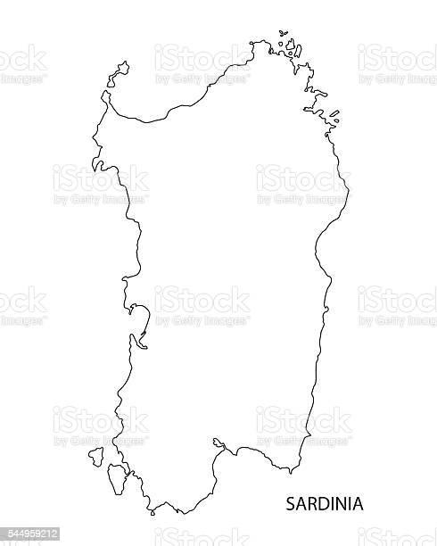 Cartina Sardegna Vettoriale.Mappa Sagoma Nera Della Sardegna Italia Immagini Vettoriali Stock E Altre Immagini Di Cagliari Istock