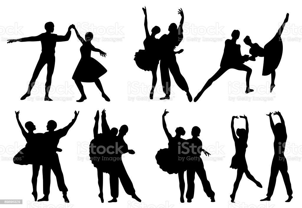 Ballet ilustración de ballet y más banco de imágenes de aislado libre de derechos