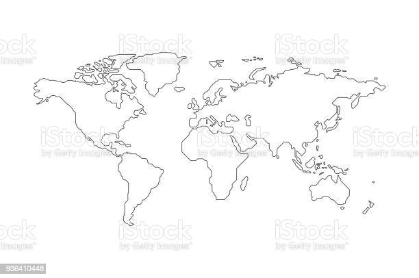 World Map Free Vector Art - (21,191 Free Downloads)