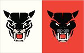 black panther head icon